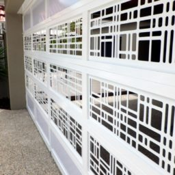Custom laser-cut panels