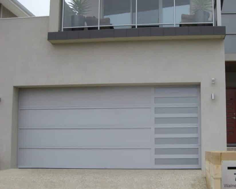 Architectural Series - Sidelight Anotec silver grey with Platinum slots