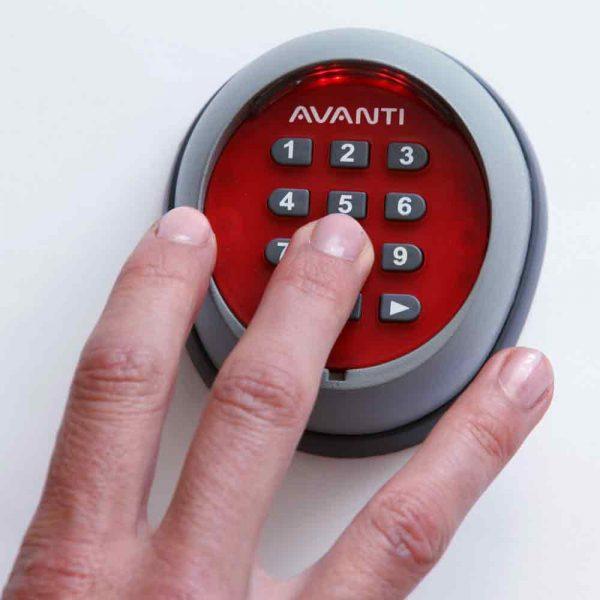 Wireless Digital Key Pad 2 Wireless Keypad Remote Control