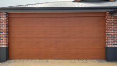 timber look garage doors