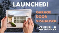Centurion Garage Door's has launched their new garage door visualiser tool