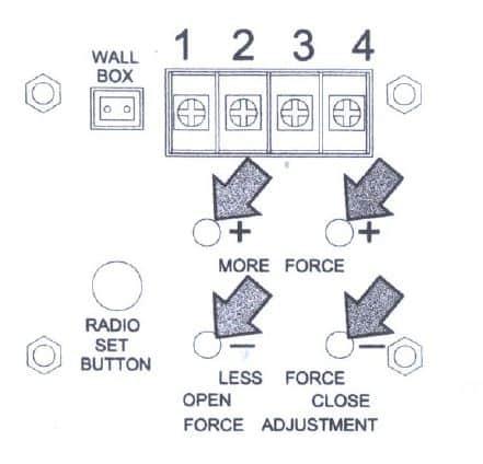 Boss BHT4C Remote and Opener Programming Diagram