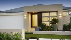 Mediterranean Style Centurion Garage Door on a House