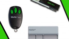 Merlin Remotes for Garage Doors